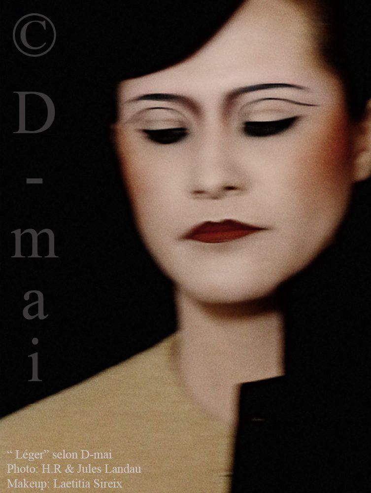 Portfolio D-mai. Photo : HR - Makeup Laetitia Sireix.