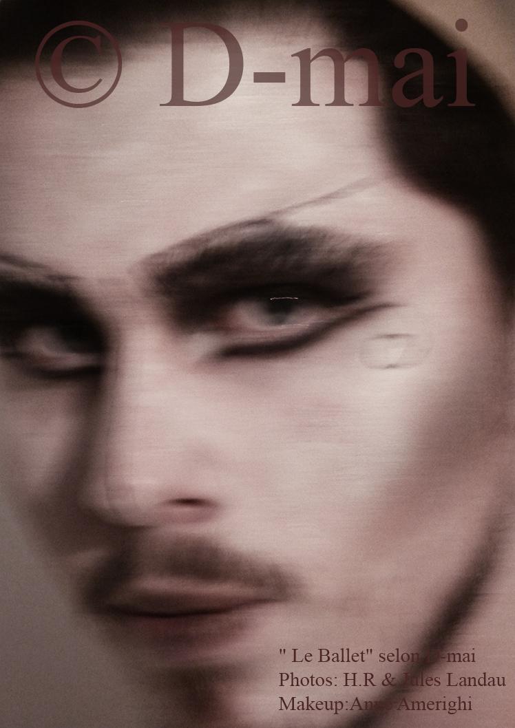 Portfolio D-mai. Makeup Anne Amerighi. Photo H.R et Jules Landau.