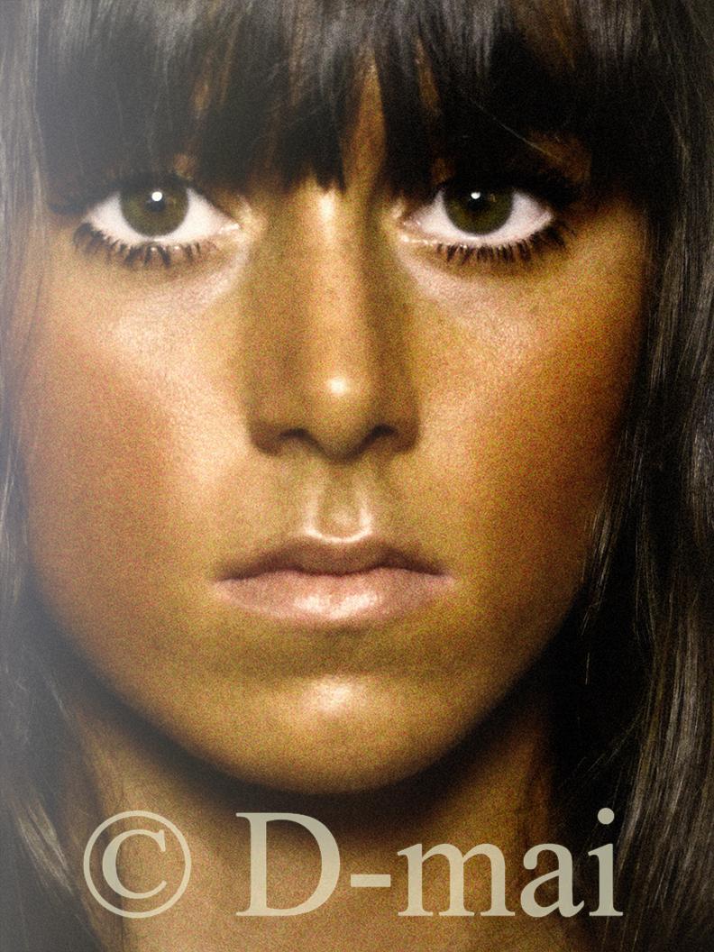 Portfolio selon D-mai. Makeup Ophélie Crommar. Photo H.R.