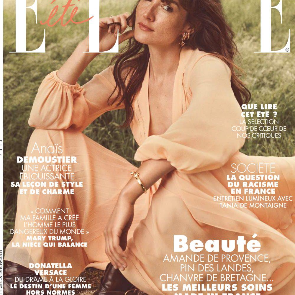 ELLE Photo: Jonas Bresnan Maquillage: Aurélie Deltour pour D-mai Paris