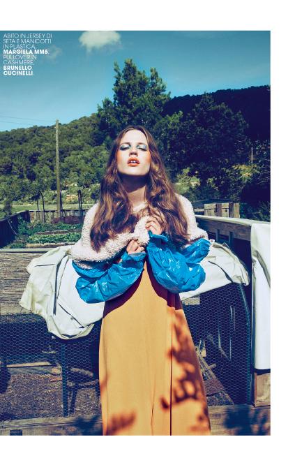 [:fr]MARIE-CLAIRE Italie. Photo : Arnaud Pyvka - Makeup : Kathy Le Sant pour D-mai Paris[:]
