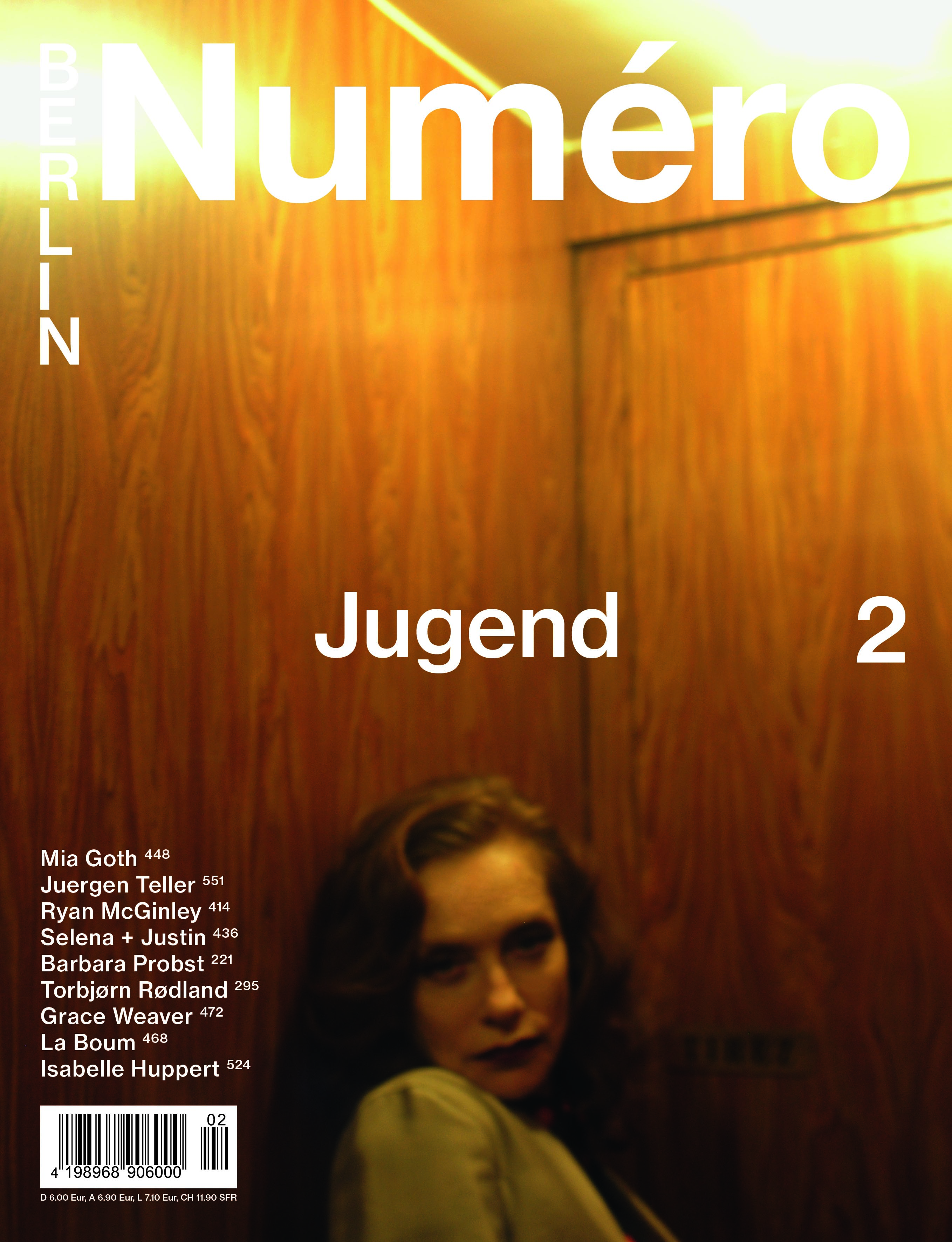 Numero Berlin- Photo: joe Lai- Makeup: Houda Remita